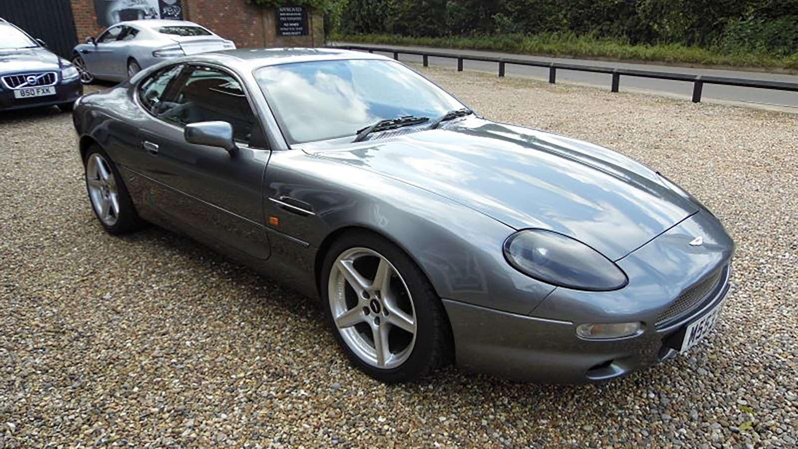 Dan Trent Lusting Over The Forgotten Aston Martin
