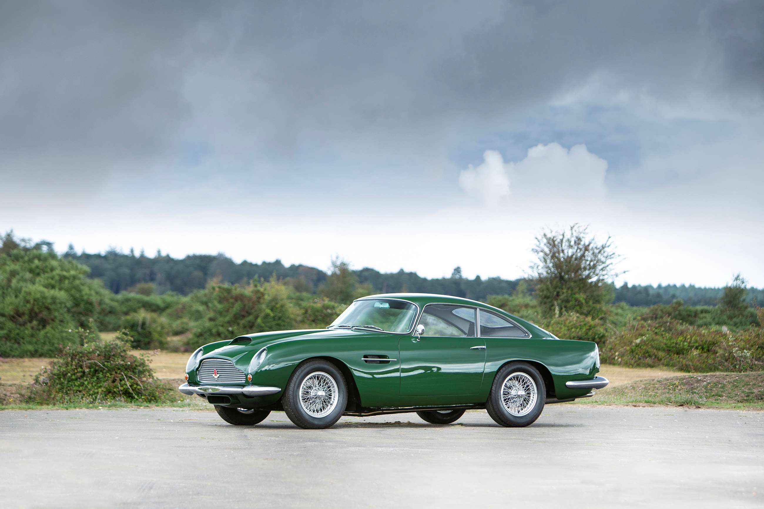 Donald Campbell S Aston Martin Db4 Gt To Be Auctioned At The Revival