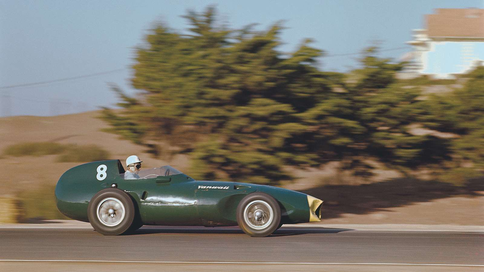 Stirling Moss Vanwall 1958