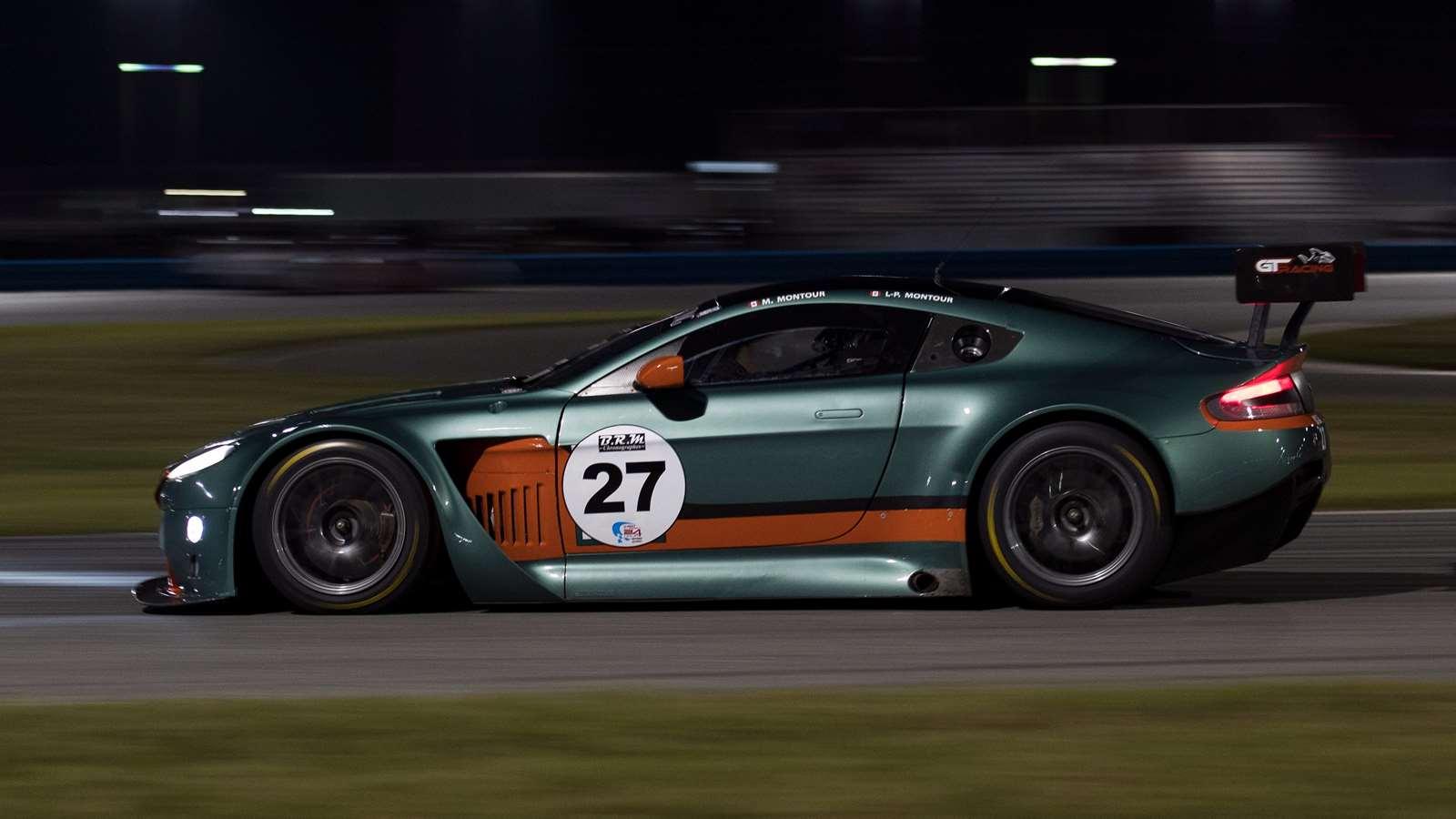This Aston Martin Vantage Gt3 Has The Last V12 In Motorsport