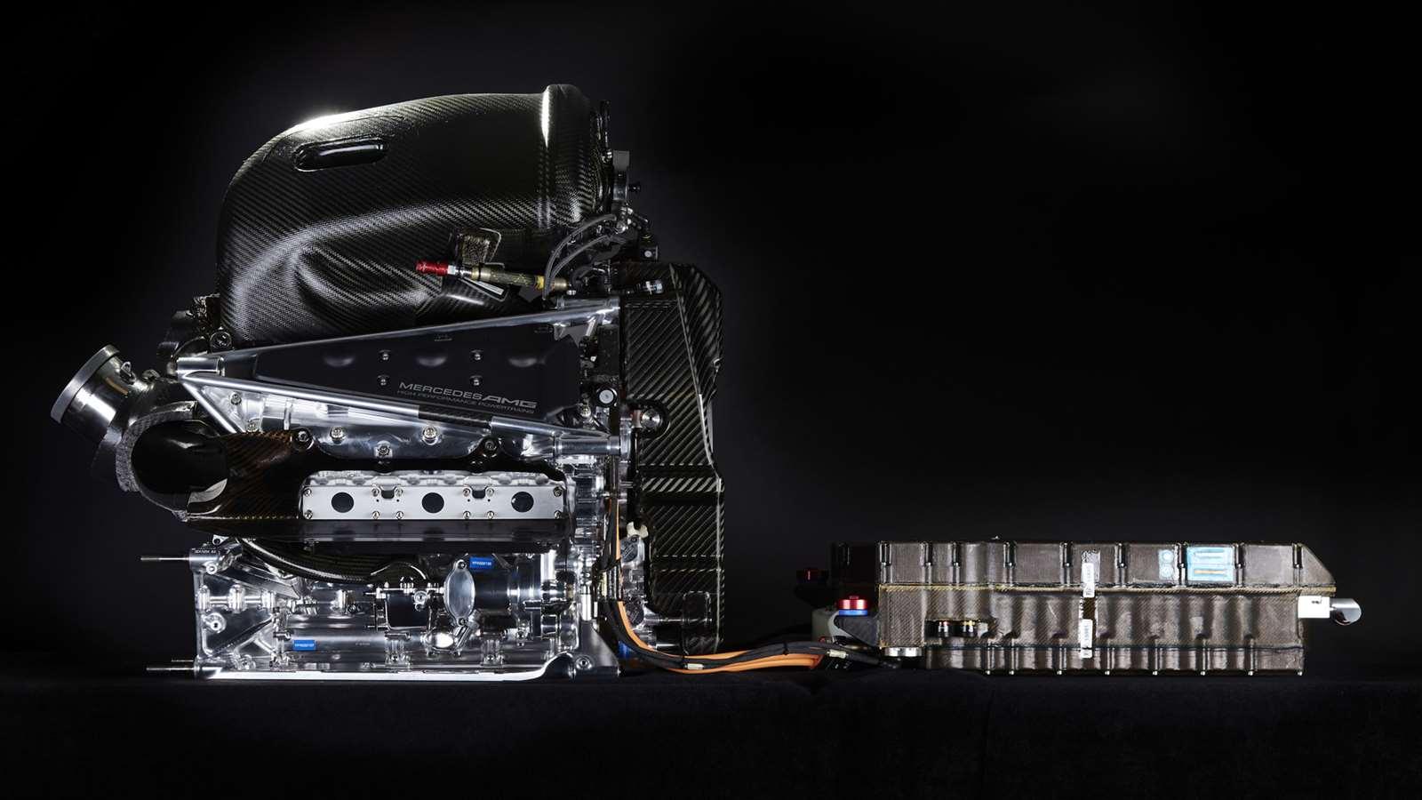 Mercedes-AMG F1 engine