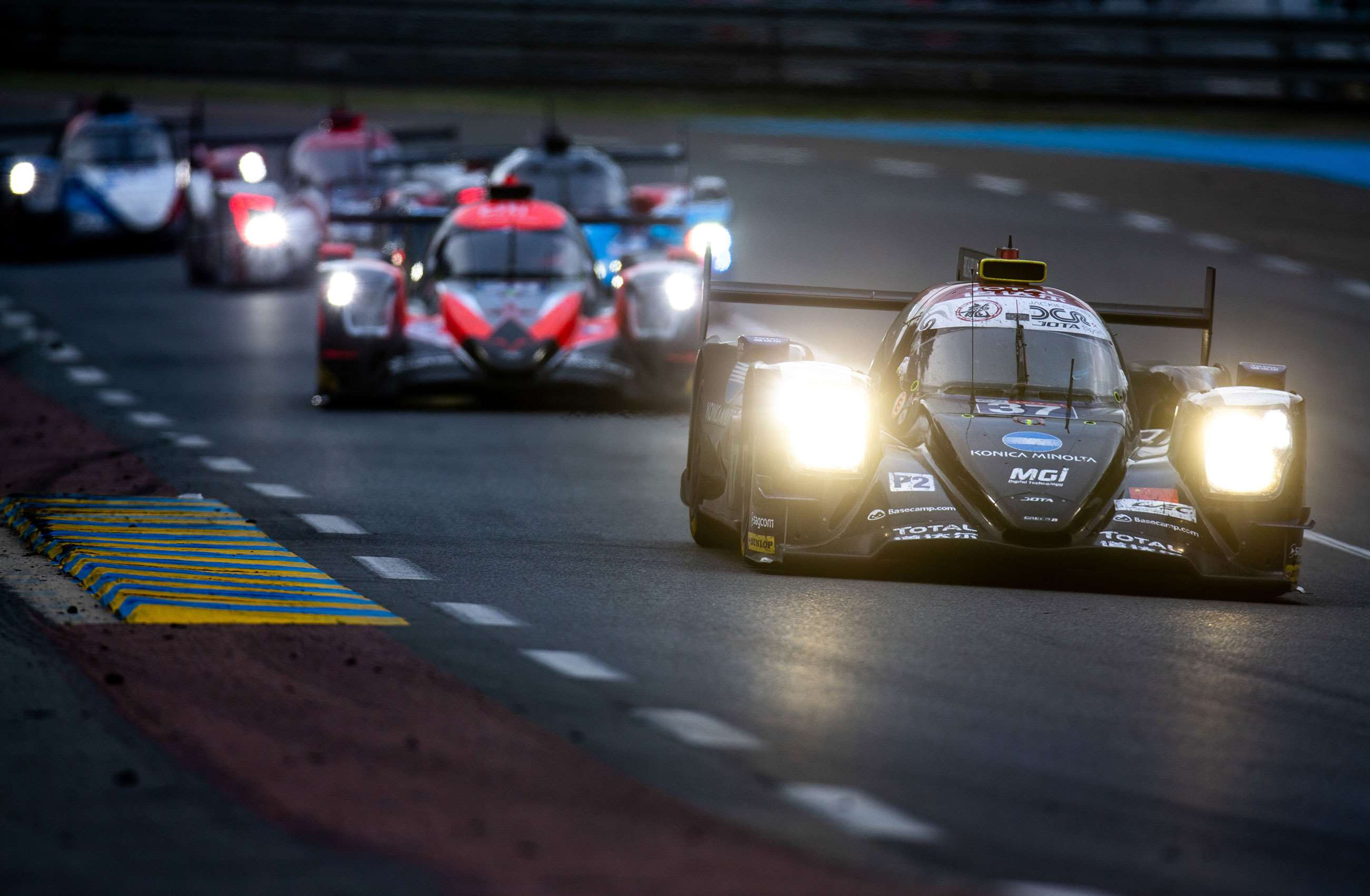 Brand new Lemans 24 hours race track Cushion cover