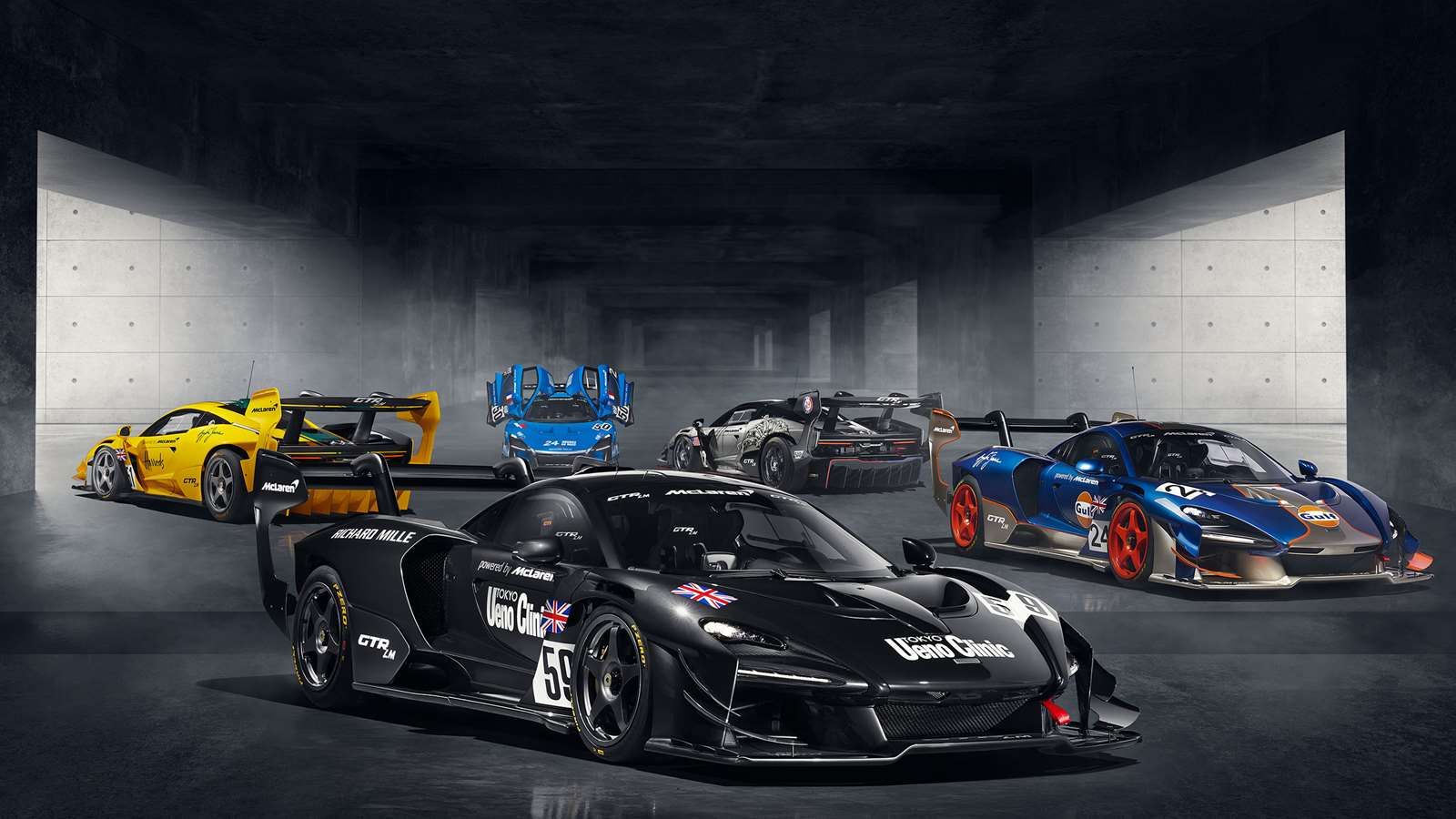 The Senna Gtr Lm Is A Tribute To The Le Mans Conquering F1 Gtr Grr