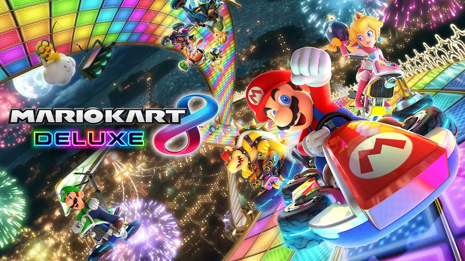 Highest selling racing games Mario Kart