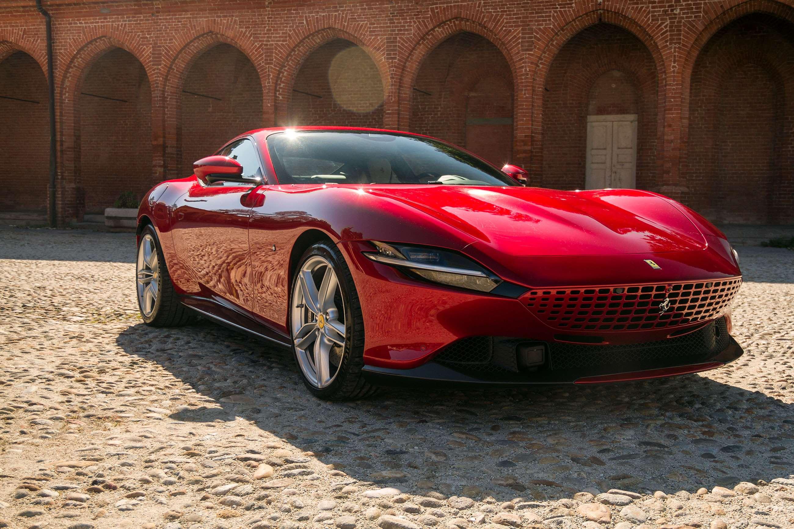 2020 Ferrari Roma Review Grr
