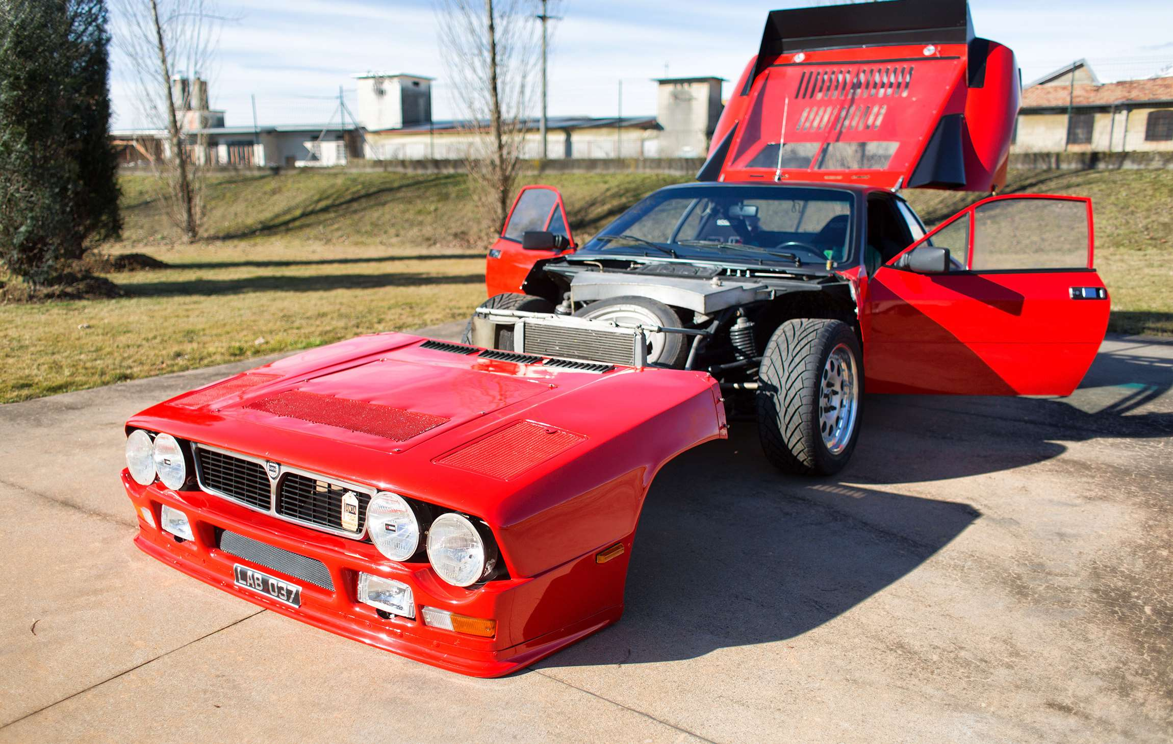 The First Ever Lancia 037 Is For Sale