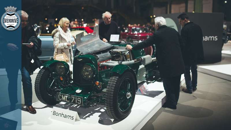 2m Aston Martin Ulster Tops Bonhams Retromobile Sale Results