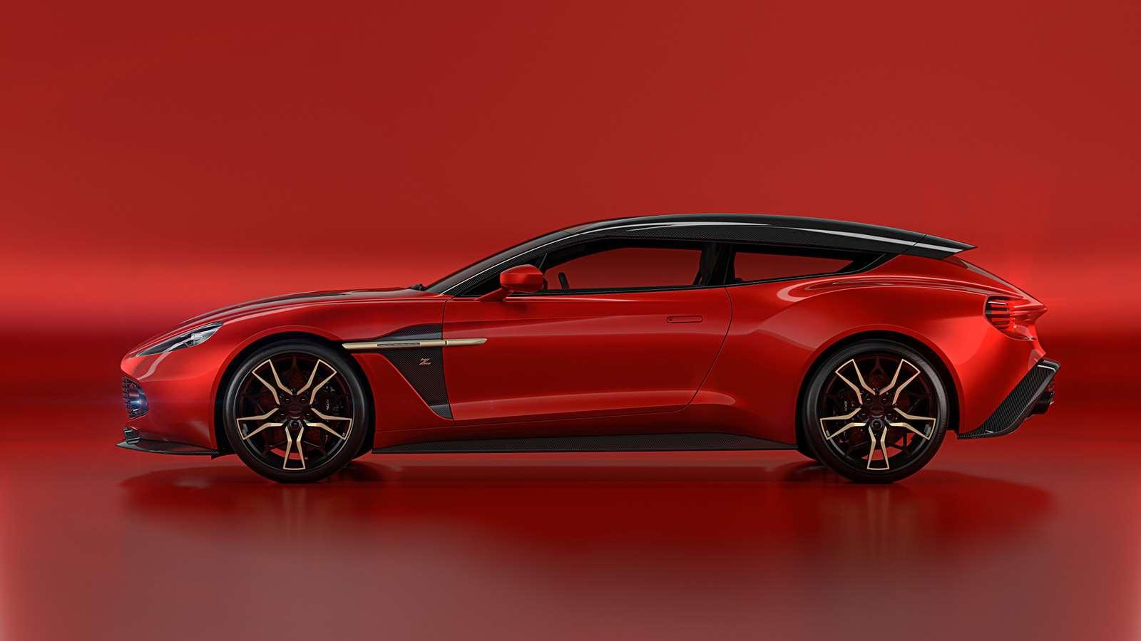 Is The Aston Martin Vanquish Zagato Shooting Brake The World S Coolest Estate