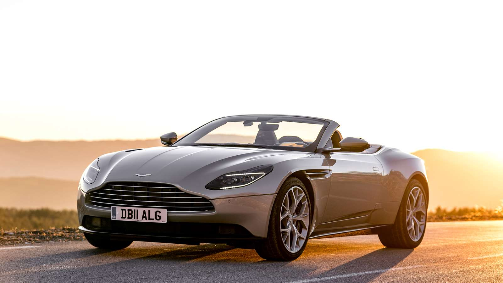 First Drive Aston Martin Db11 Volante