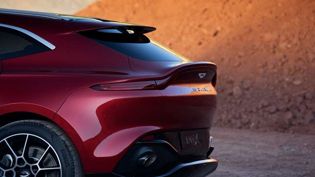 This Is The New Aston Martin Dbx Suv Grr