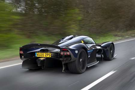 The 1 160bhp Aston Martin Valkyrie Has Ventured Out Onto The Street Grr