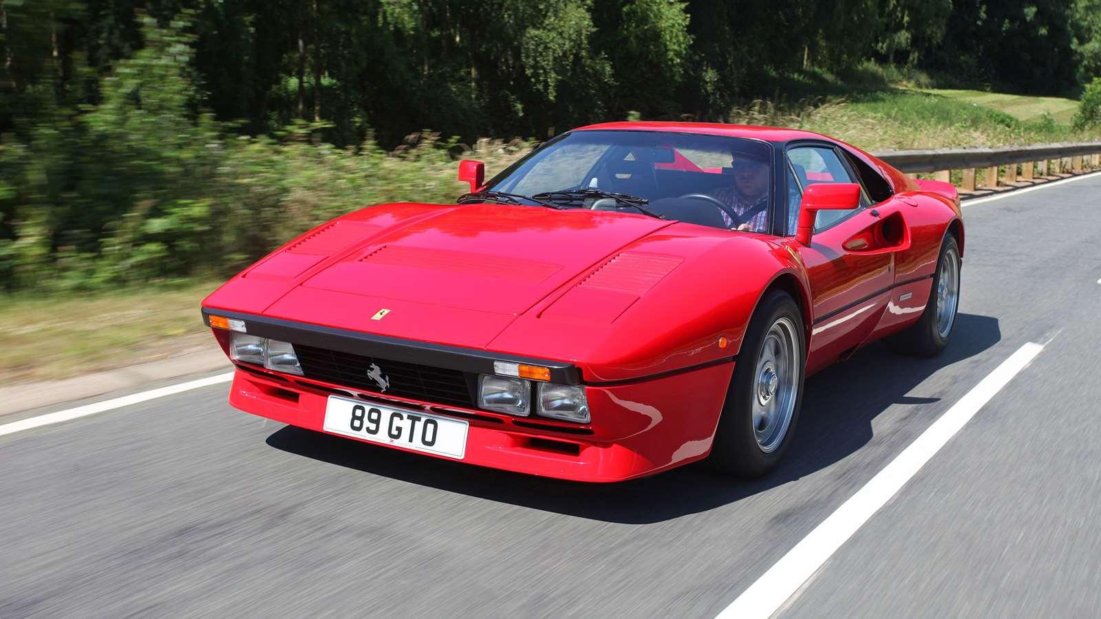 The best eighties supercars Ferrari 288 GTO
