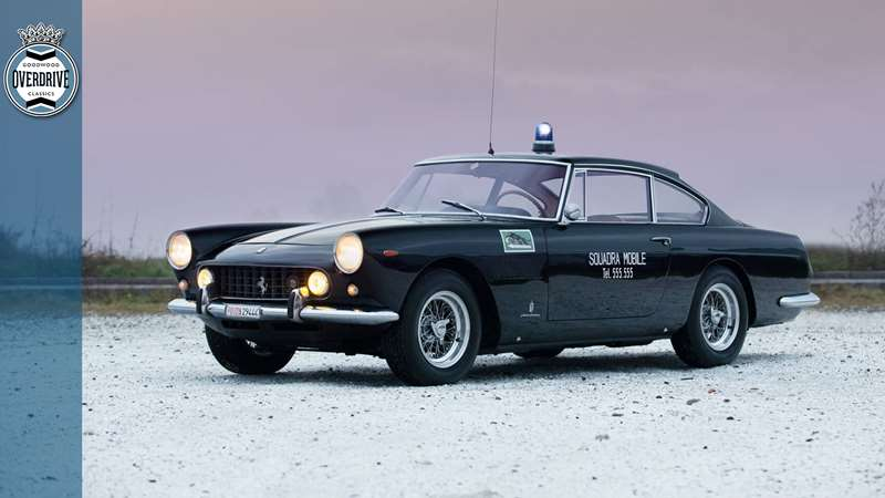This Insanely Cool Ferrari 250 Gte Police Car Is Up For Sale Grr