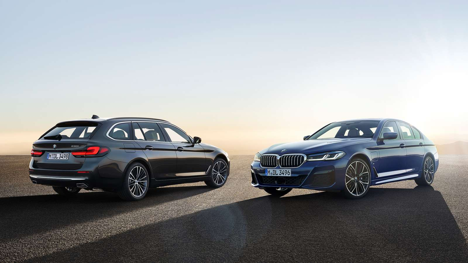 2020 BMW 5 series saloon and estate