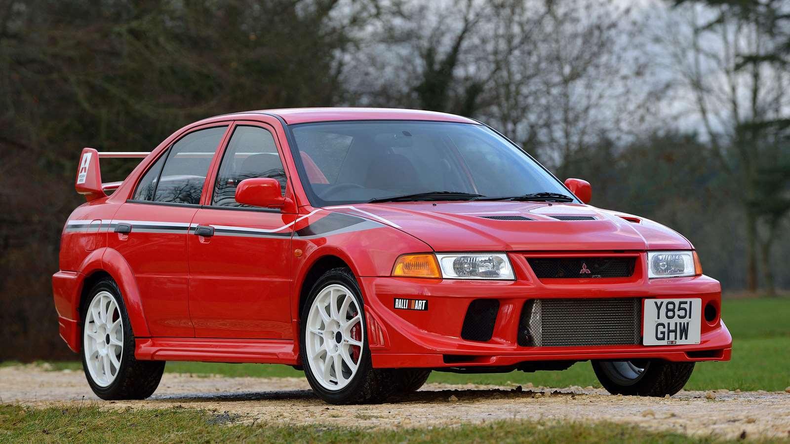 Best Mitsubishis Evo VI