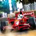 Ferrari F1 car at Goodwood Festival of Speed.